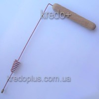 Рамка биолокационная МЕДЬ с резонатором конус