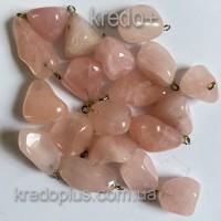 Амулет (брелок) Розовый кварц