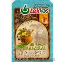 Крем-бальзам дезодорант при потливости с маслом пальмарозы