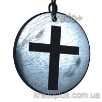 Кулон из шунгита Крест